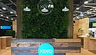 Green Live Wall at the Xero stand - Fieldays 2018